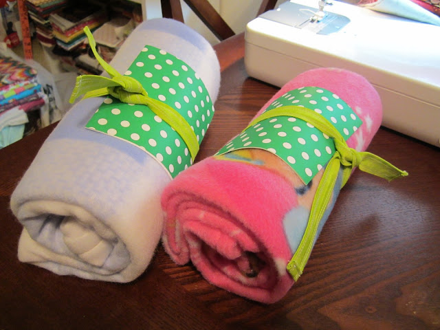 DIY Fleece Baby Blanket
