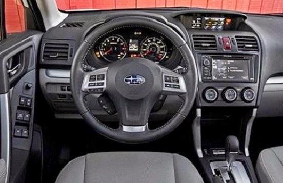 2016 Subaru Forester Interior