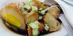 resep praktis dan mudah membuat makanan khas palembang empek empek enak, lezat