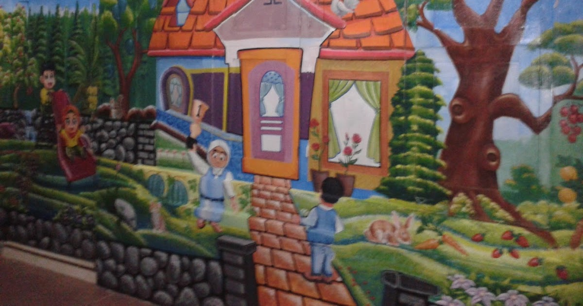 Lukisan naturalis jasa mural lukis tembok murah for Mural untuk kanak kanak