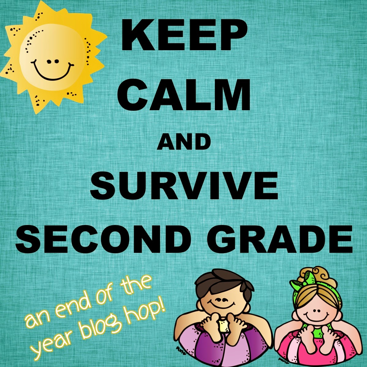 Keep Calm and Survive Second Grade... with Awards Your Students Can ...