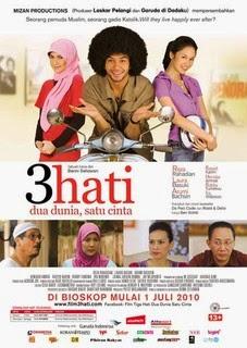 download film 3 hati 2 dunia 1 cinta