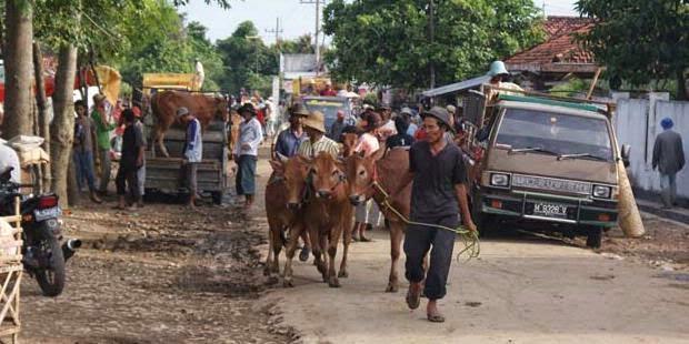 Kemacetan di Pasar Palengaan Tak Teratasi