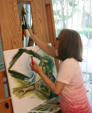At My Easel