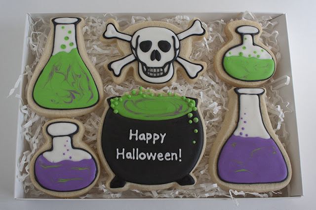 Halloween Potion Cookies