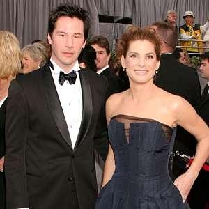 Sandra Bullock and Keanu Reeves Hair Styles