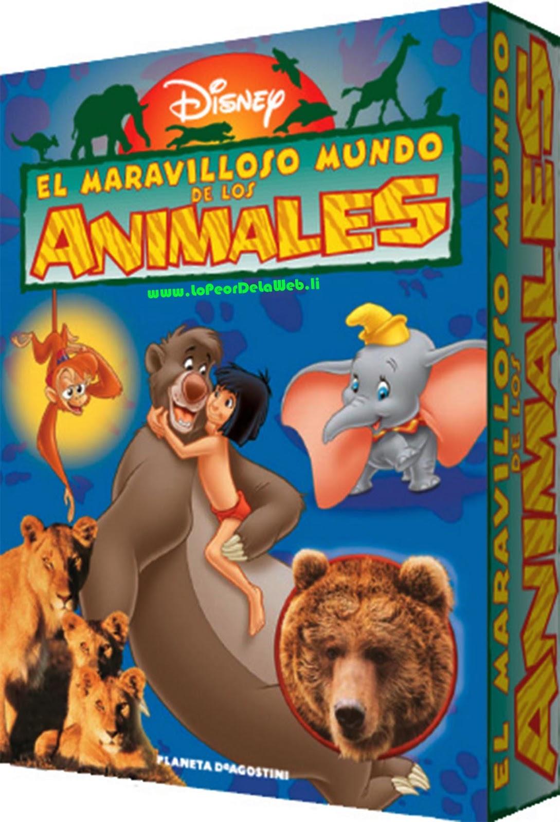 El Maravilloso Mundo de los Animales (Disney) Ep 11 a 15