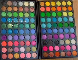 Trusa machiaj cu 120 culori - Fraulein 38