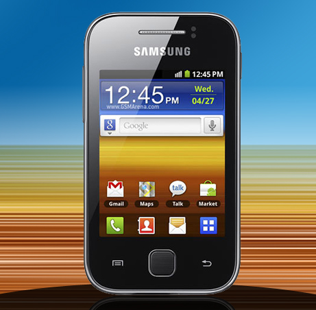 Samsung Galaxy Y, an Affordable Android Phone. ~ Digital Technology