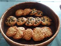 galletas con pipas de calabaza o piñones