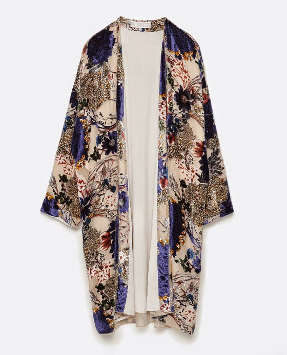 Conjunto Quimono poncho da Zara