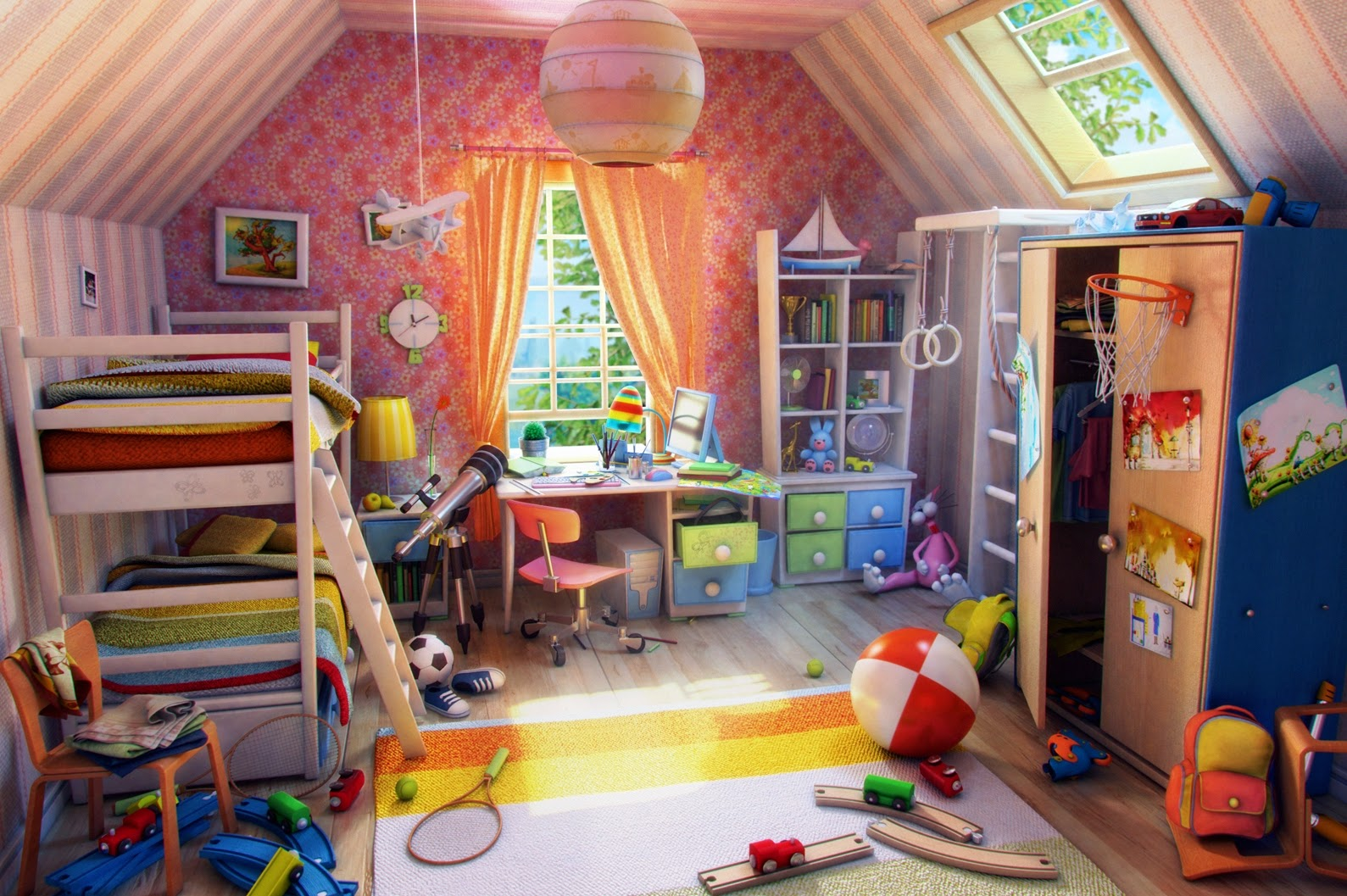 Ideas for Decorating Children's Bedrooms