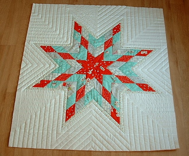 Quilting Pattern For Lone Star : Negligent style: Lone star - quilted