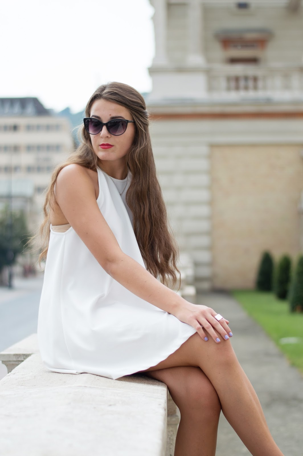 Pretty and Nice  OUTFIT - A kis fehér ruha 973489de2b