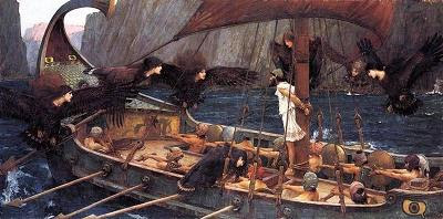 Ulisses i les sirenes (John William Waterhouse)