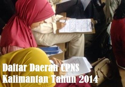 Pendaftaran CPNS Kalimantan 2014