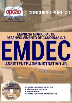 Novo Concurso Empresa Municipal de Desenvolvimento de Campinas S/A (EMDEC) 2016