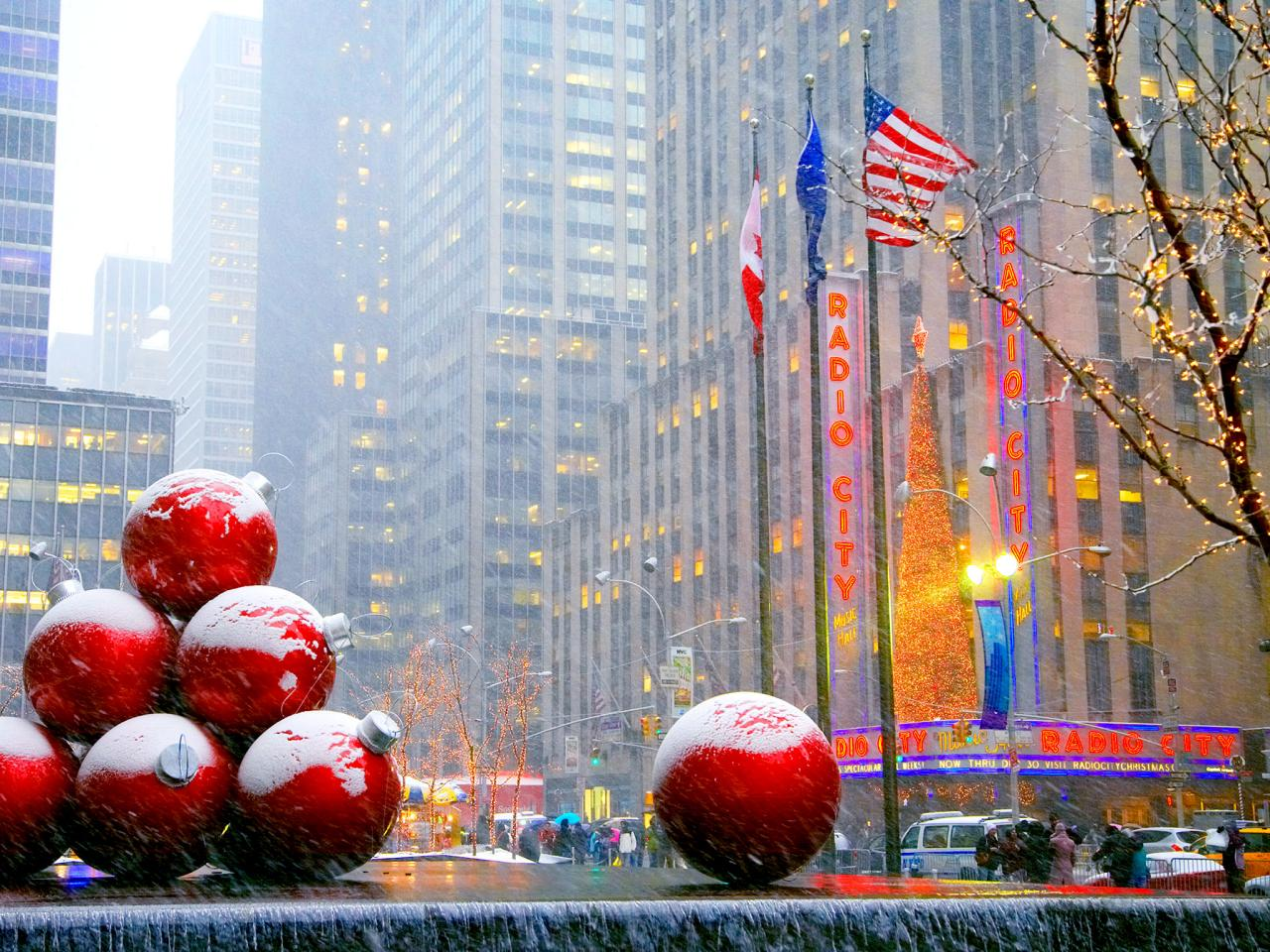 Christmas time in NYC pt. V ~ a la mode