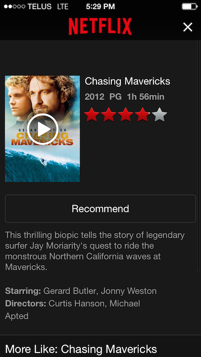 chasing mavericks full movie netflix