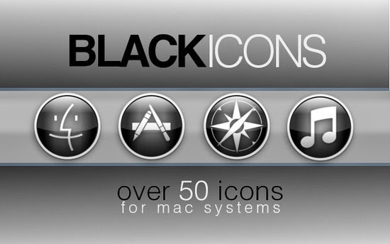 The New Black Icon set