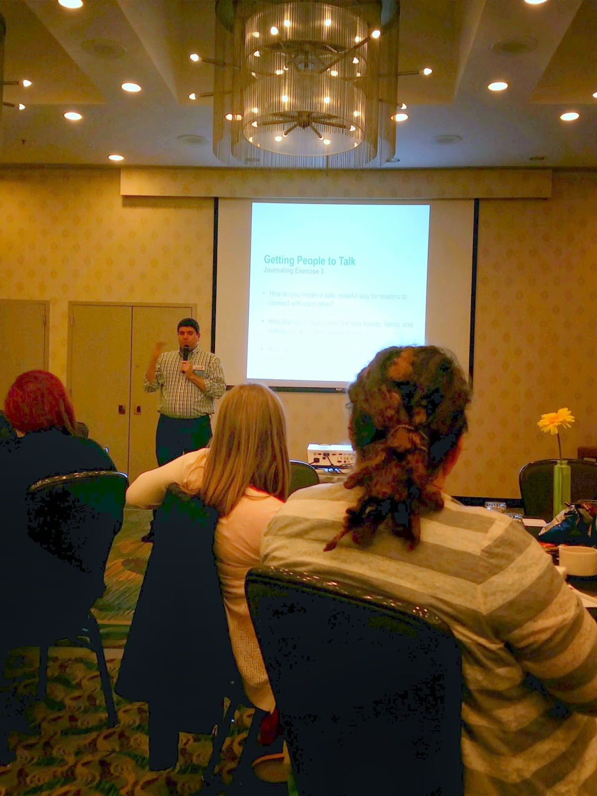 How To Survive Your First Blogging Conference; Andy Hayes