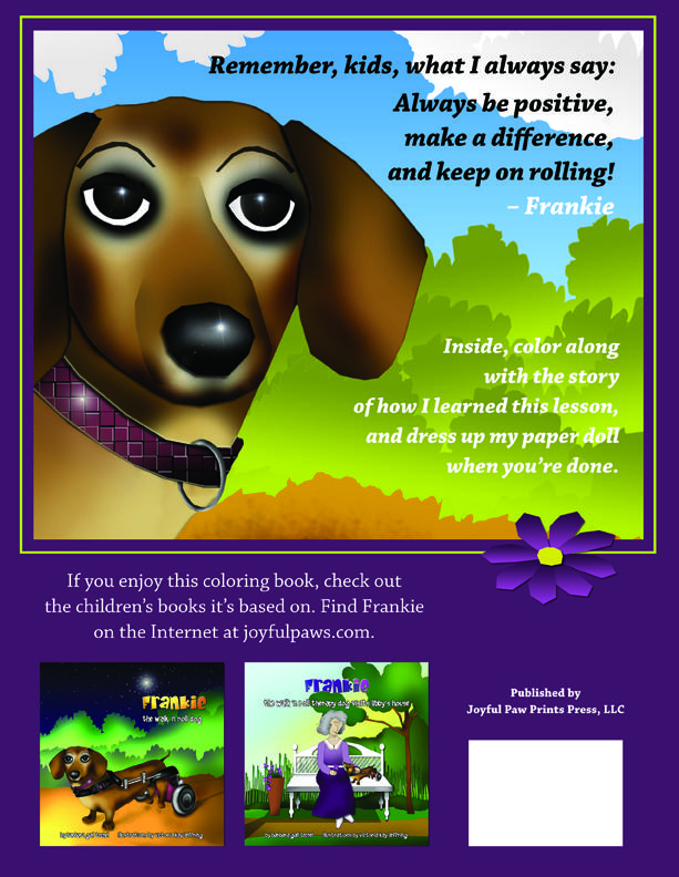 Of Proceeds Sales Will Go To Dodgerslist An Organization That Helps Pet Parents Whose Pets Have Been Diagnosed With IVDD Like Frankie Has