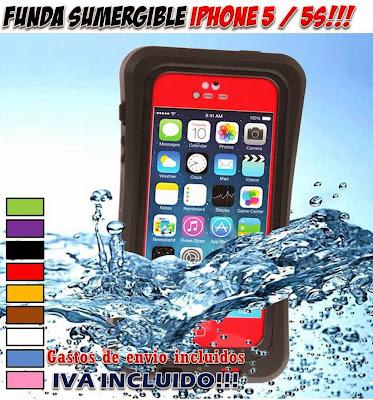 funda sumergible iPhone 5 / 5S