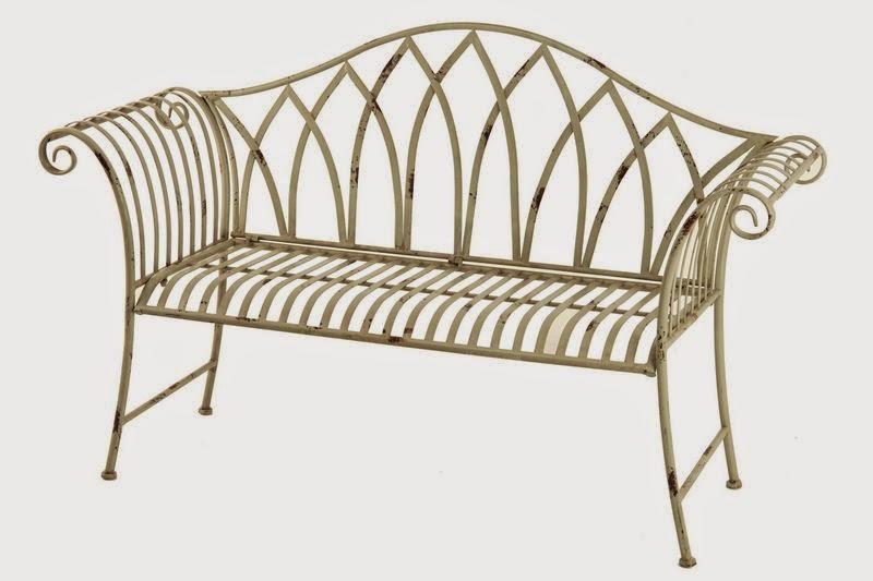 Muebles de forja marzo 2015 - Banco de forja para jardin ...