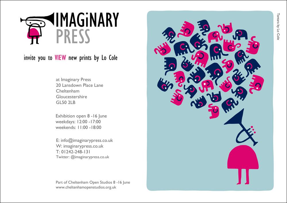 Lo cole cheltenham open studios invitation to imaginary press lo cole cheltenham open studios invitation to imaginary press exhibition stopboris Image collections