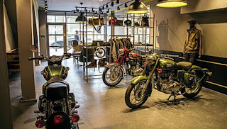 Royal Enfield's Mitcham Store
