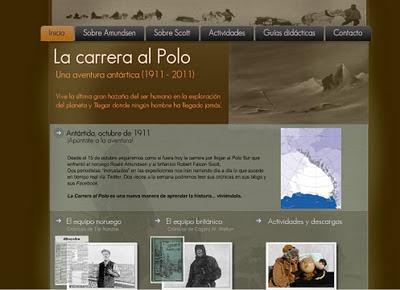 Amundsen, Scott, Javier Cacho, carrera, Polo Sur, Antartida