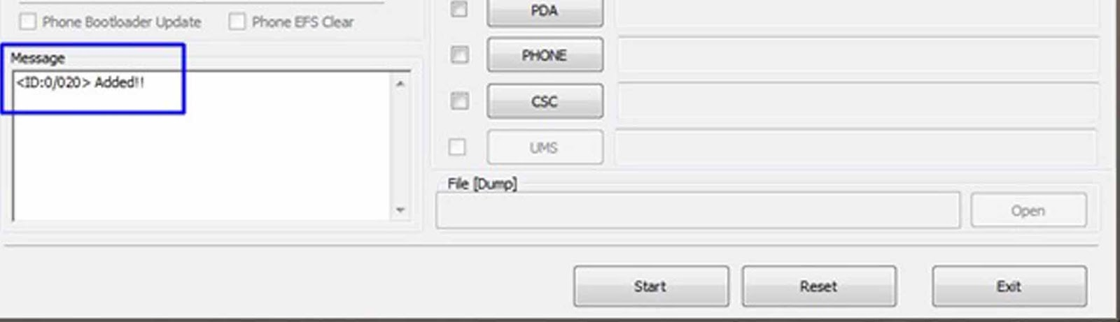 11. Kemudian tklik PDA pada Odin, lalu cari file (touch.tar) yang ...