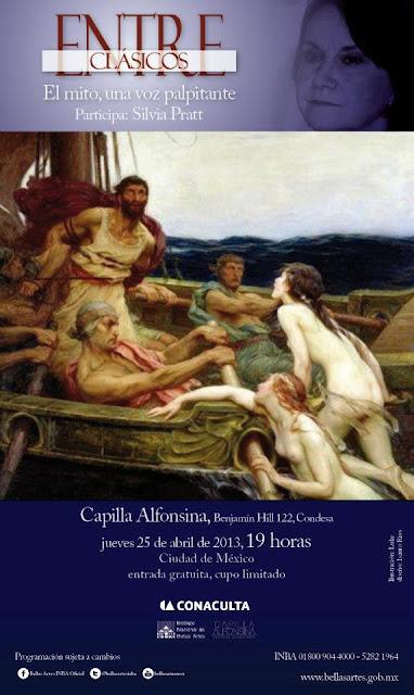 "El ciclo ""Entre clásicos"" presenta a la poeta Silvia Pratt en la Capilla Alfonsina"