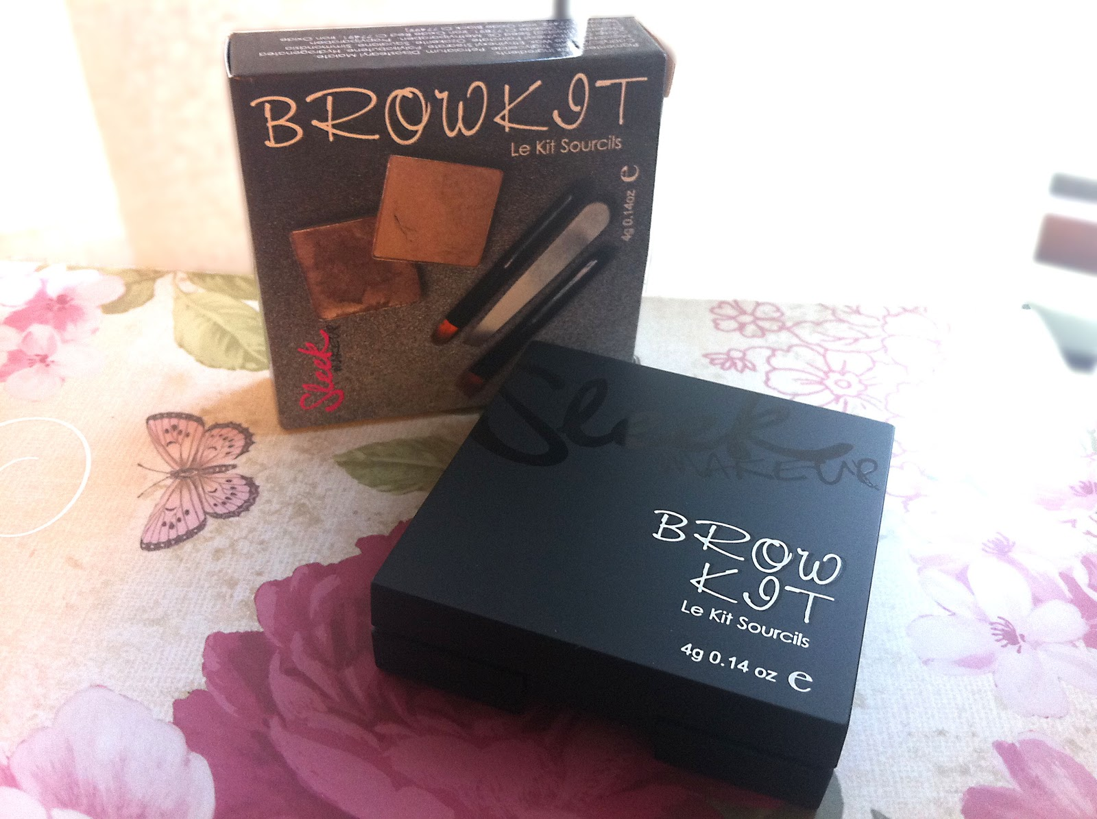 Birds Words Beauty Fashion Lifestyle Sleek Brow Kit Review A