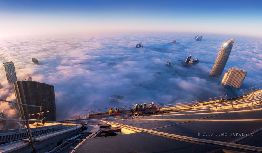 3. At The Edge Of The Abyss by Beno Saradzic