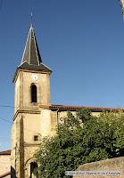 Sauvagnat sainte-Marthe, Puy de Dôme. L'église