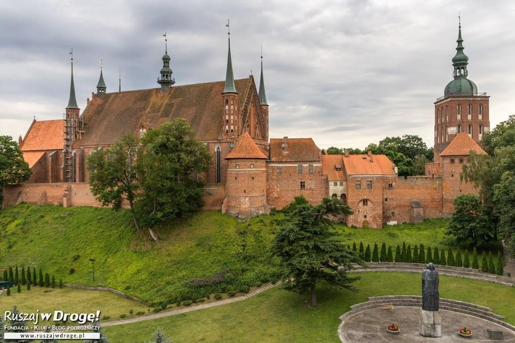 Widok z Wieży Wodnej na Wzgórze Katedralne