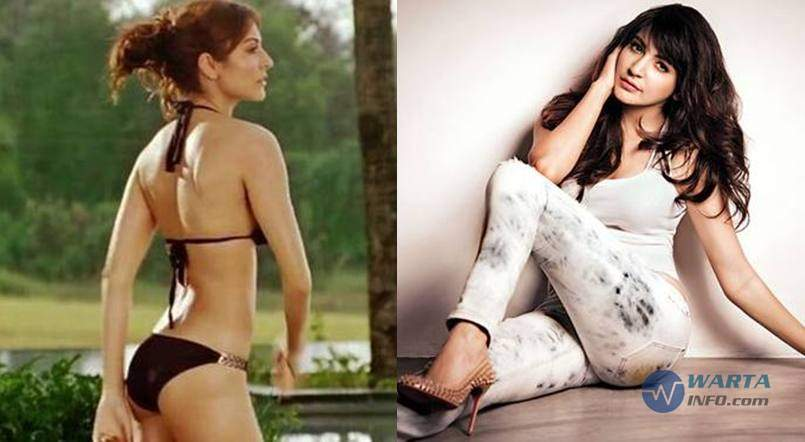 Foto Hot Anushka Sharma Artis Bollywood dengan Bokong terseksi Terindah menggoda