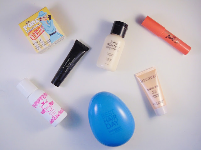 These are the contents from the BirchBox Birthday Edition September 2015.