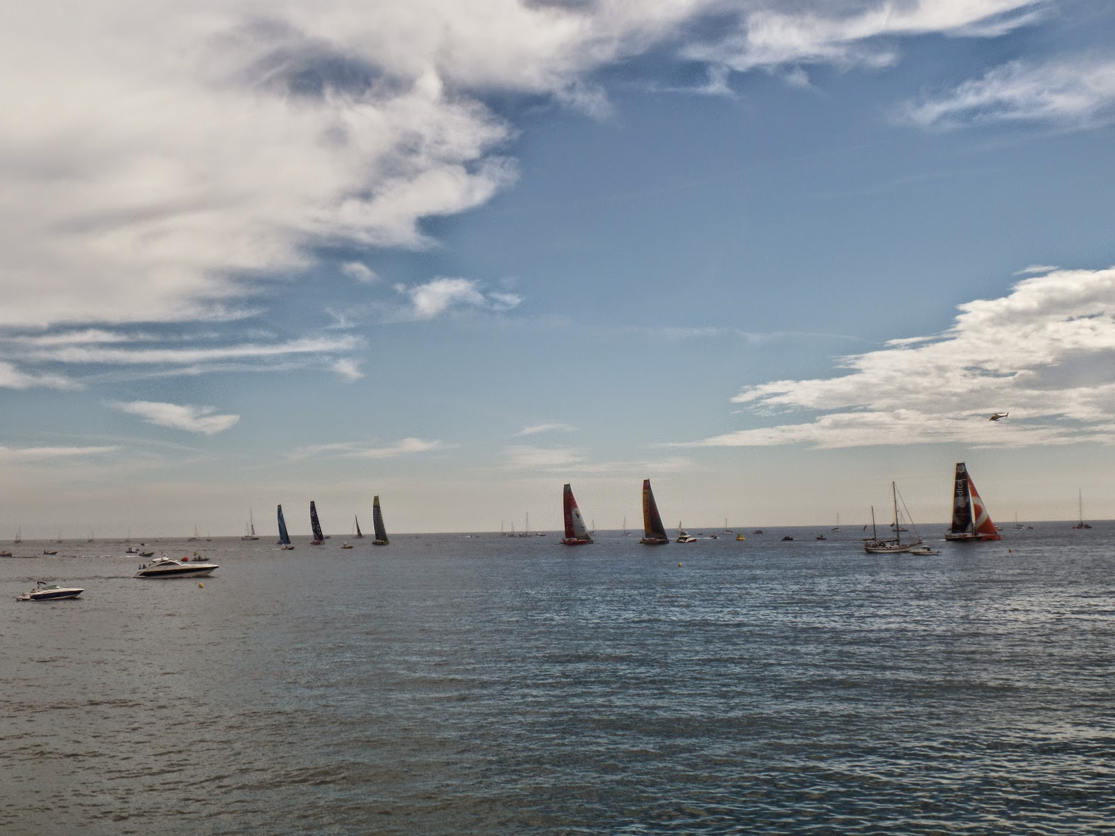 El Blog de María Serralba-Mi vista a la Volvo Ocean Race 2014