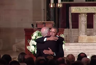 President Obama Embrace Joe Biden At Son's Funeral - Remembering Beau Biden