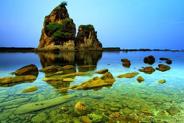 wisata pantai  di Banten
