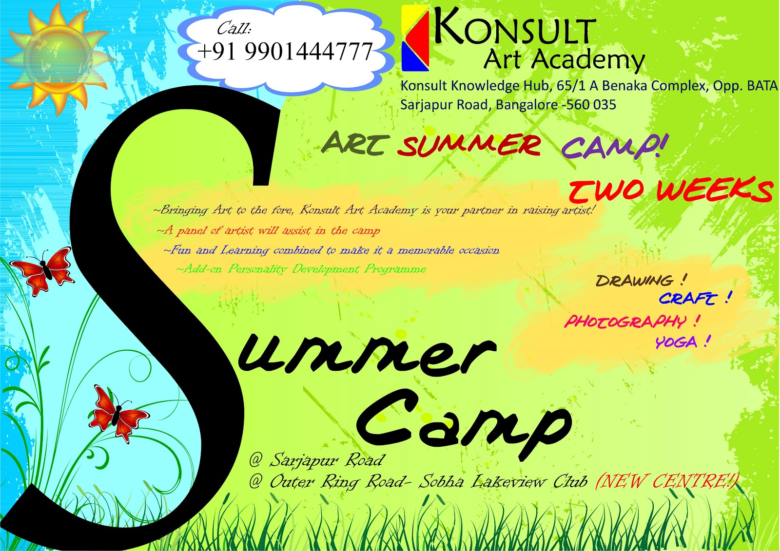 art classes for children and adults summer camp