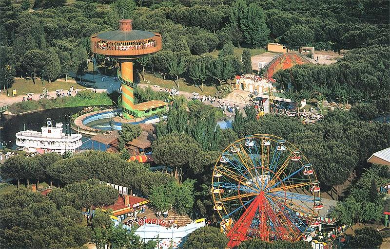 El Parque de Atracciones de Madrid en la Casa de Campo