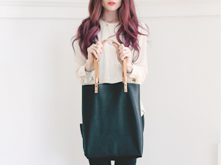 Scout & Catalogue Yelapa leather tote bag