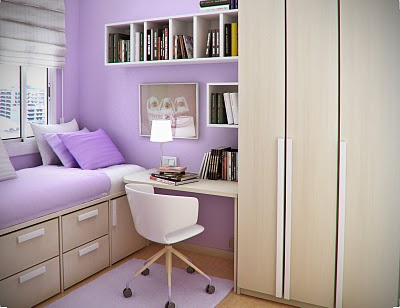 Simple and Minimalist Teen Bedroom Design by Sergi Mengot 8