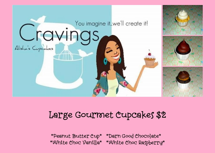 Cravings Alisha 39 S Cupcakes Water Gardens Cinema