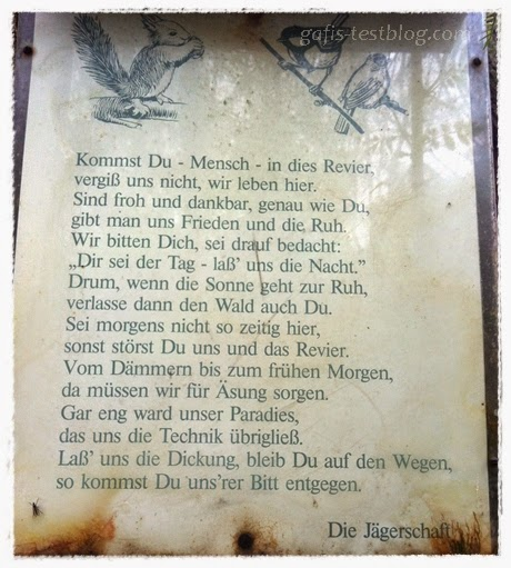 Waldschild