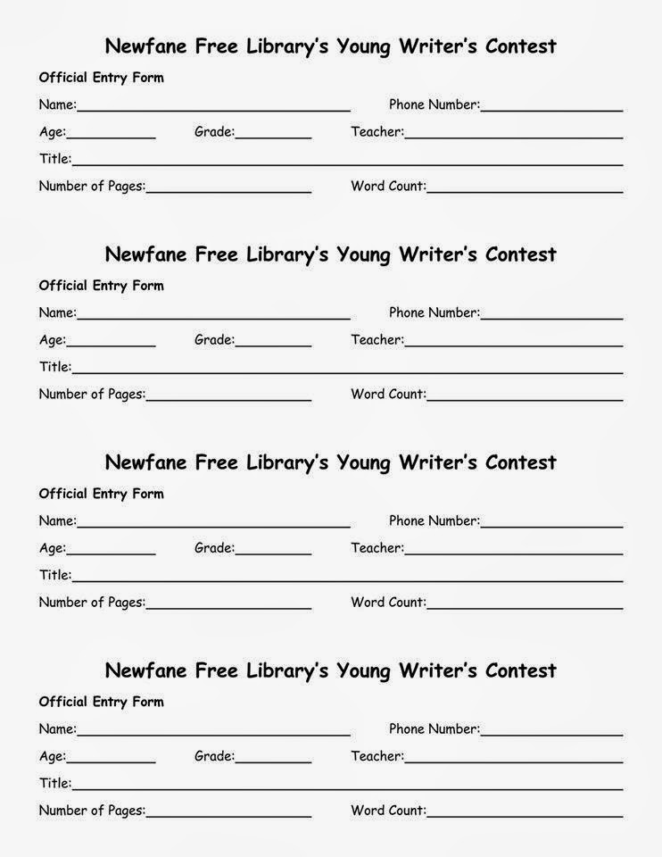 free writing contests 2014 Below are links to free writing contests organized by category (children's, non-fiction, fiction, etc) i have tried to link only active contests and keep the information as updated as possible but sometimes contests close or end unexpectedly.