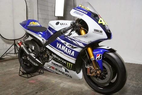 Livery baru Yamaha YZR M1 di Motogp musim 2014 di perkenalkan di Indonesia!